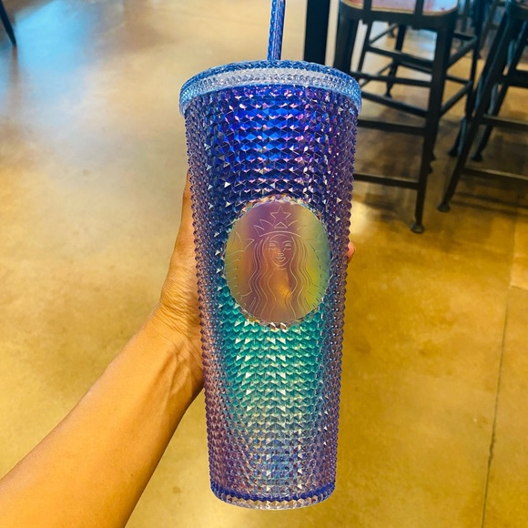 Starbucks aurora blue ombre tumbler mermaid rare